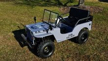 2017_Willys_Mini Jeep_US Navy 125cc (25MPH)_ Charlotte NC
