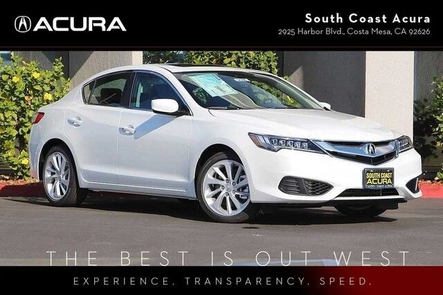 2018 Acura ILX w/Technology Plus Pkg Costa Mesa CA 22474529