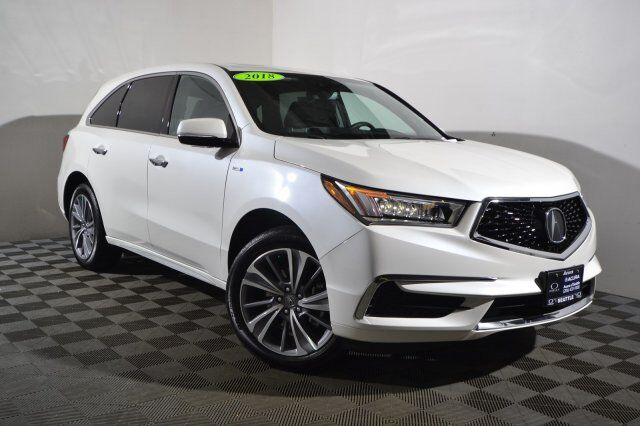2018 Acura Mdx Sport Hybrid 3 0l W Technology Package Seattle Wa 25661317