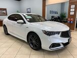 2018 Acura TLX A SPEC SPORT WITH RED ROSSO INTERIOR LEATHER