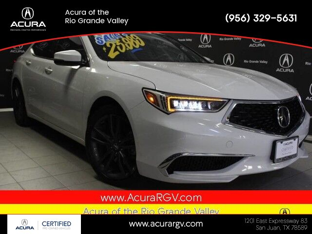 2018 Acura TLX Standard Model with ASPEC Wheels San Juan TX