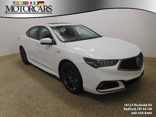 2018 Acura Tlx V6 A Spec Red Bedford Oh 21462243
