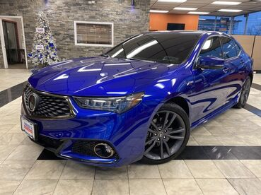 2018_Acura_TLX_w/A-SPEC Pkg Red Leather_ Worcester MA
