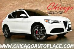 2018_Alfa Romeo_Stelvio_Ti Sport - AWD 2.0L 280HP I4 DI TURBO ENGINE 1 OWNER NAVIGATION BACKUP CAMERA RED LEATHER INTERIOR HEATED SEATS PANO ROOF HARMAN/KARDON AUDIO_ Bensenville IL