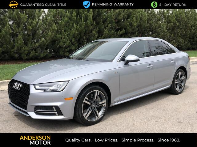 2018 Audi A4 2.0 TFSI Premium Plus quattro 7A Salt Lake City UT