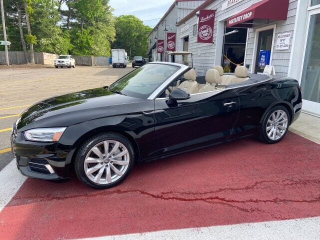 2018 Audi A5 Cabriolet Premium plus Marshfield MA