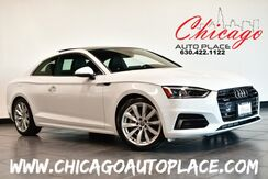 2018_Audi_A5 Coupe_Premium Plus - 2.0L TFSI 4-CYL 252HP ENGINE ALL WHEEL DRIVE NAVIGATION BACKUP CAMERA BLACK LEATHER HEATED SEATS KEYLESS GO PARKING SENSORS DUAL ZONE CLIMATE CONTROL_ Bensenville IL