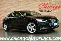 2018_Audi_A5 Sportback_Prestige Quattro - 2.0L TFSI 4-CYL 252HP ENGINE 1 OWNER ALL WHEEL DRIVE NAVIGATION BACKUP + TOP VIEW CAMERAS BLACK LEATHER HEATED SEATS KEYLESS GO_ Bensenville IL