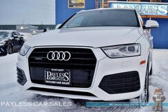 2018_Audi_Q3_Premium S-Line / Quattro AWD / Automatic / Power & Heated Leather Seats / Panoramic Sunroof / Bluetooth / Back-Up Camera / 28 MPG / 1-Owner_ Anchorage AK