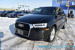 2018_Audi_Q3_Sport Premium Plus S-Line / Quattro AWD / Power & Heated Leather Seats / Navigation / Panoramic Sunroof / Blind Spot Assist / Bluetooth / Back-Up Camera / 28 MPG / 1-Owner_ Anchorage AK