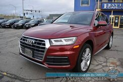 2018_Audi_Q5_Premium Plus / AWD / Heated Leather Seats & Steering Wheel / Navigation / Bang & Olufsen Speakers / Sunroof / Blind Spot Alert / Bluetooth / Back Up Camera / Low Miles / 1-Owner_ Anchorage AK