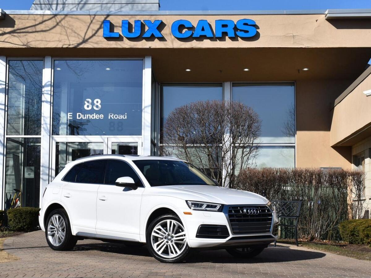 2018_Audi_Q5_Premium Plus Panoroof Nav Quattro MSRP $52,660_ Buffalo Grove IL