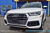 2018 Audi Q5 Premium Plus / Quattro AWD / Heated & Ventilated Leather Seats / Heated Steering Wheel / Navigation / Panoramic Sunroof / Bluetooth / Back Up Camera / 1-Owner