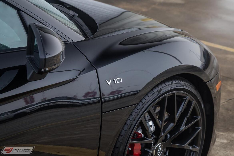 2018 Audi R8 5.2 V10 RWS Tomball TX