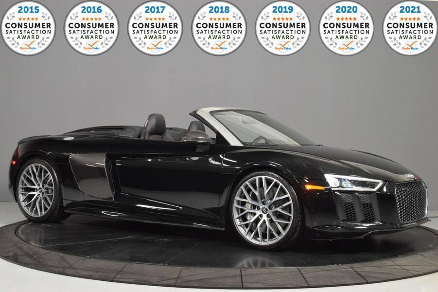 2018_Audi_R8 Spyder_V10 plus_ Glendale Heights IL