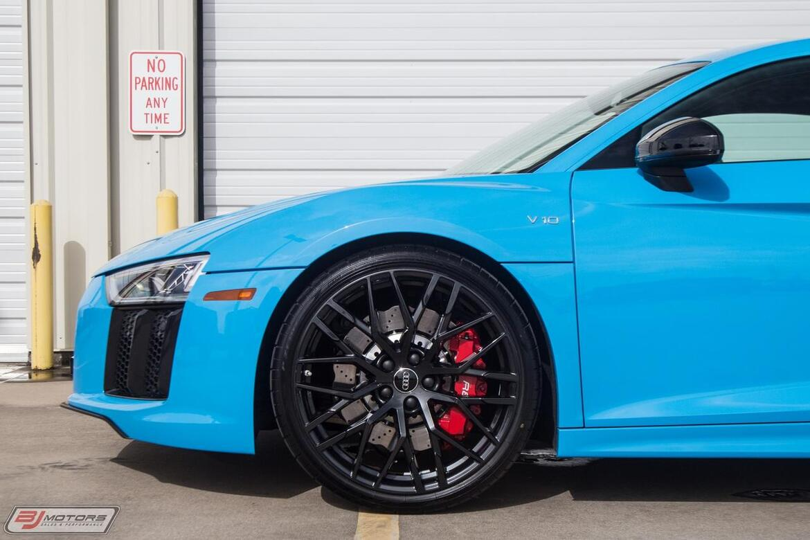 2018 Audi RWS S TRONIC R8 Coupe 1 of 320 V10 Exclusive Series Tomball TX