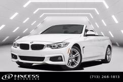 2018_BMW_4 Series_430i Convertible M-Sport Package Low Miles Warranty!_ Houston TX