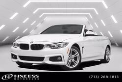 BMW 4 Series 430i Convertible M-Sport Package Low Miles Warranty! 2018