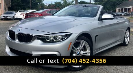 2018 BMW 4-Series 430i SULEV Convertible Charlotte and Monroe NC