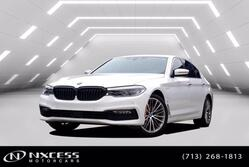 BMW 5 Series 530e iPerformance Sport Line Factory Warranty. 2018