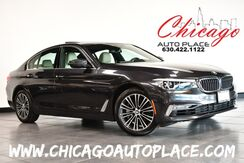 2018_BMW_5 Series_540i xDrive - 3.0L 6-CYL TURBO ENGINE ALL WHEEL DRIVE NAVIGATION BACKUP CAMERA TAN LEATHER HEATED SEATS HEATED STEERING WHEEL SUNROOF PARKING SENSORS_ Bensenville IL