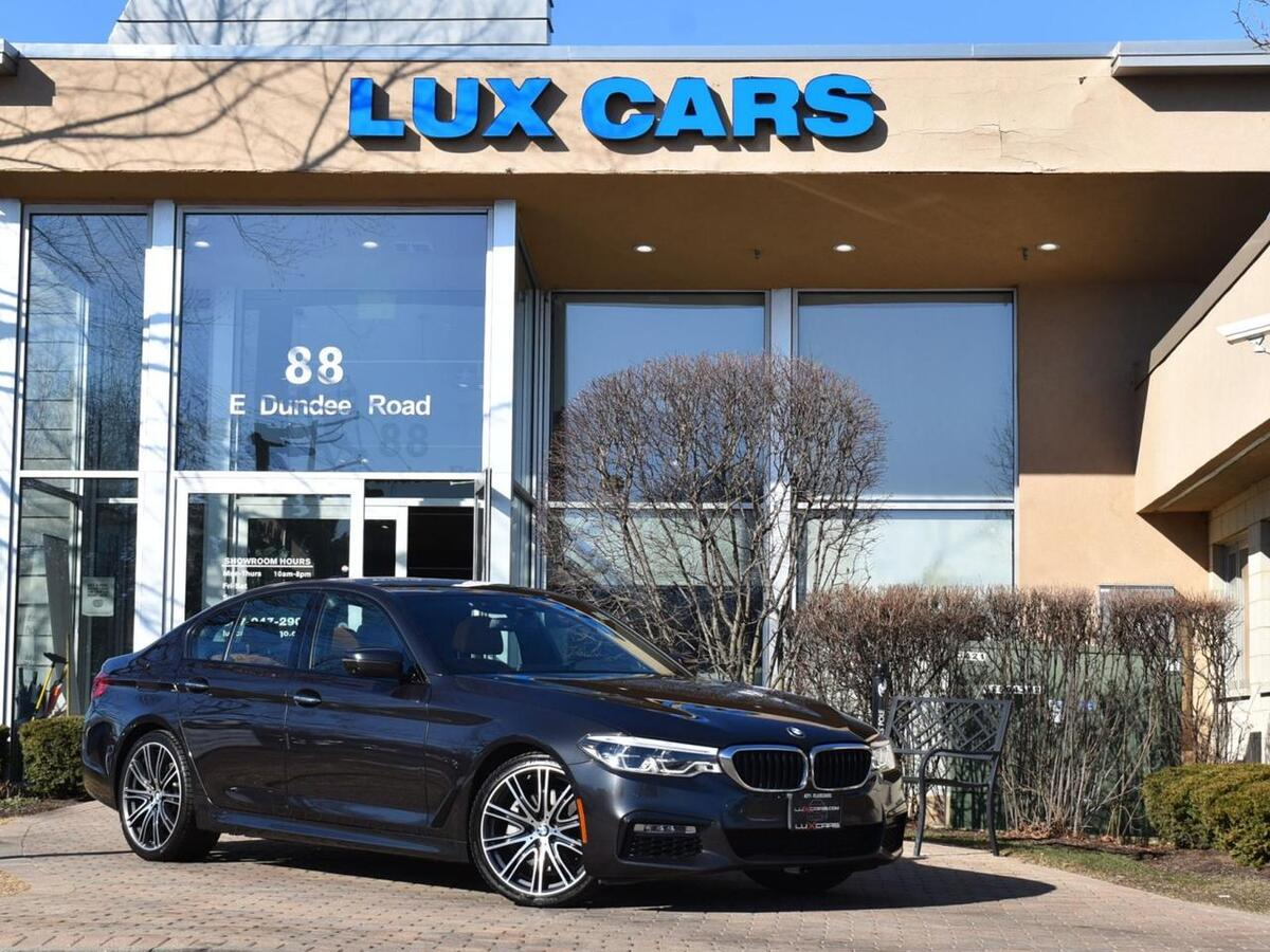 2018_BMW_540i_xDrive M-Sport Executive Nav AWD MSRP $75,735_ Buffalo Grove IL