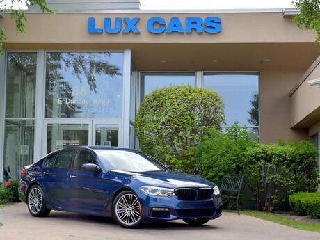 2018 BMW 540i xDrive M-Sport Executive Nav AWD MSRP $76,520 Buffalo Grove IL