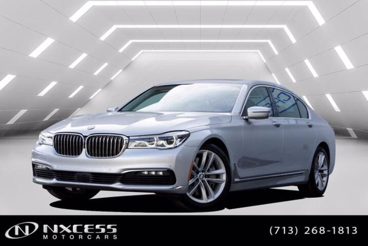 2018 BMW 7 Series 750i Drive Assist Plus Cold Weather Package Executive Package! Houston TX