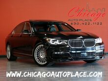 2018_BMW_7 Series_ALPINA B7 xDrive - MSRP $149595 4.4L TWINPOWER TURBO V8 ENGINE ALL WHEEL DRIVE NAVIGATION TOP VIEW CAMERAS BLACK LEATHER HEATED/COOLED SEATS_ Bensenville IL