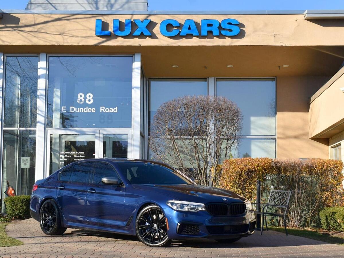 2018_BMW_M550i_xDrive Executive Nav Luxury AWD MSRP $82,220_ Buffalo Grove IL