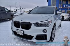 2018_BMW_X1_AWD / M Sport Pkg / Power & Heated Leather Seats / Navigation / Panoramic Sunroof / Bluetooth / Back Up Camera / Keyless Entry & Start / Power Liftgate / 31 MPG / Low Miles / 1-Owner_ Anchorage AK