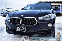 2018_BMW_X2_xDrive28i / AWD / Automatic / Power & Heated Leather Seats / Panoramic Sunroof / Bluetooth / Back-Up Camera / 32 MPG / 1-Owner_ Anchorage AK