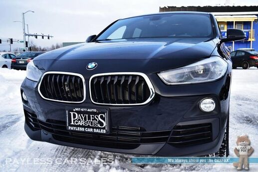 2018 BMW X2 xDrive28i / AWD / Automatic / Power & Heated Leather Seats / Panoramic Sunroof / Bluetooth / Back-Up Camera / 32 MPG / 1-Owner Anchorage AK