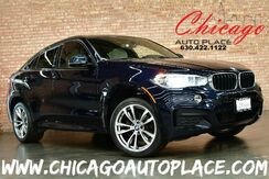 2018_BMW_X6_xDrive 35i M-SPORT - 3.0L TURBOCHARGED INLINE 6 ENGINE ALL WHEEL DRIVE NAVIGATION TOP VIEW CAMERAS IVORY/BLACK LEATHER HEATED SEATS SUNROOF HEADS-UP DISPLAY_ Bensenville IL