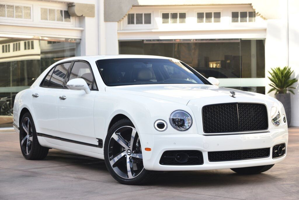 2018 Bentley Mulsanne Speed Design Series Speed Speed