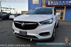 2018_Buick_Enclave_Essence / AWD / Auto Start / Power & Heated Leather Seats / Dual Sunroof / Blind Spot Alert / Bluetooth / Back Up Camera / Rear Captain Chairs / 3rd Row / Seats 7 / Keyless Entry & Start / Block Heater / Tow Pkg / 25 MPG / Only 5k Miles / 1-Owner_ Anchorage AK