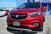 2018 Buick Encore Premium / AWD / Power & Heated Leather Seats / Navigation / Sunroof / Bose Speakers / Auto Start / Blind Spot & Lane Departure Assist / Bluetooth / Back Up Camera / 30 MPG / 1-Owner