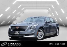 Cadillac CT6 Premium Luxury Navigation Pano Roof Warranty. 2018