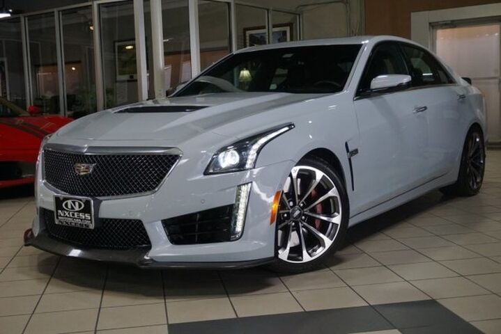 2018 Cadillac CTS-V Sedan GLACIER METALLIC EDITION NO. 103 OUT 115  Houston TX