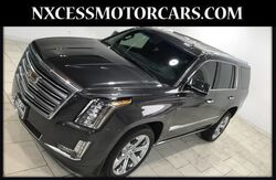 2018_Cadillac_Escalade_Platinum FOUR WHEEL DRIVE CHROME WHEELS POWER LIFT GATE LOW MILES_ Houston TX