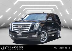 Cadillac Escalade Premium Low Miles Factory Warranty. 2018