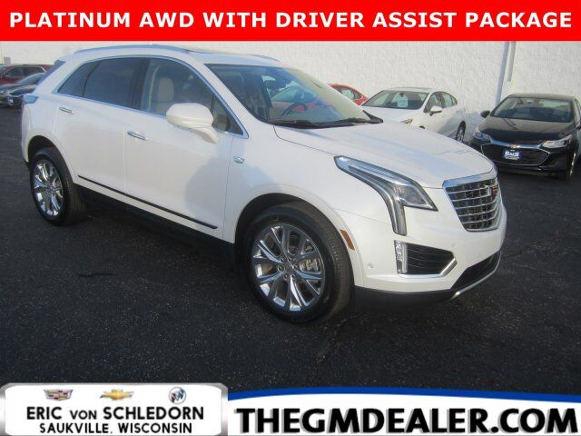2018 Cadillac XT5 Platinum AWD DriverAssist AdvSecurityPkgs w/AdaptiveCruise Sunroof Nav 20s HtdCldMemLthr Milwaukee WI
