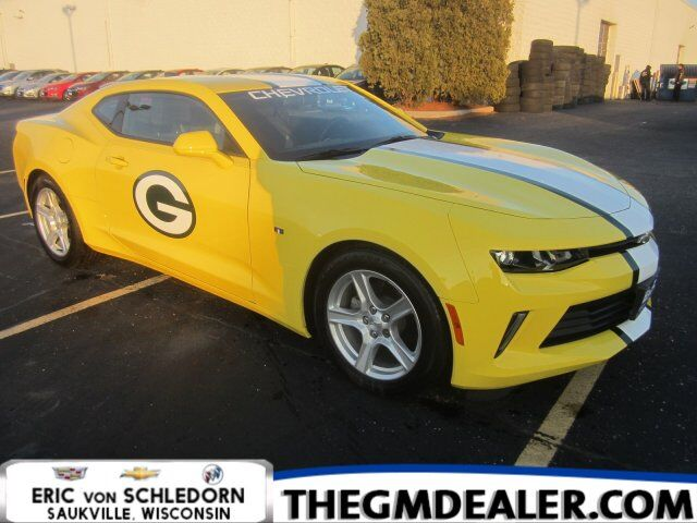 2018 Chevrolet Camaro 1LT Coupe Automatic 3.6L Green Bay Packers Milwaukee WI