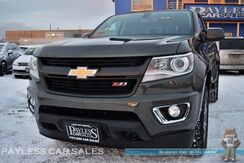 2018_Chevrolet_Colorado_Z71 / 4X4 / Crew Cab / 3.6L V6 / Power & Heated Leather Seats / Navigation / Auto Start / Bluetooth / Back Up Camera / Only 1k Miles / Tow Pkg / 1-Owner_ Anchorage AK