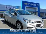 2018 Chevrolet Cruze LS Manual