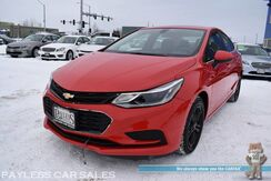 2018_Chevrolet_Cruze_LT / Automatic / Auto Start / Power & Heated Cloth Seats / Bluetooth / Back Up Camera / Keyless Entry & Start / Cruise Control / Block Heater / Aluminum Wheels / 40 MPG / 1-Owner_ Anchorage AK