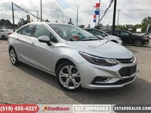 2018_Chevrolet_Cruze_Premier   LEATHER   CAM   ONE OWNER_ London ON