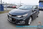 2018 Chevrolet Cruze Premier / RS Pkg / Auto Start / Front & Rear Heated Leather Seats / Heated Steering Wheel / Bluetooth / Back Up Camera / Cruise Control / 37 MPG