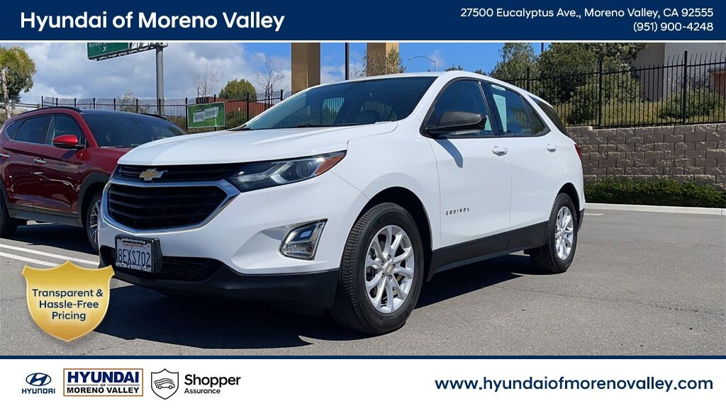 2018 Chevrolet Equinox LS Moreno Valley CA