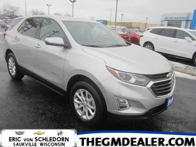 2018 Chevrolet Equinox LT AWD 1.5L Turbo Confidence&ConveniencePkg w/HtdCloth PowerLiftgate MyLink RearCamera Milwaukee WI